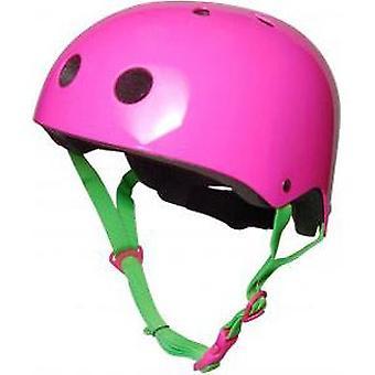 Kiddimoto Helm - Neon Pink