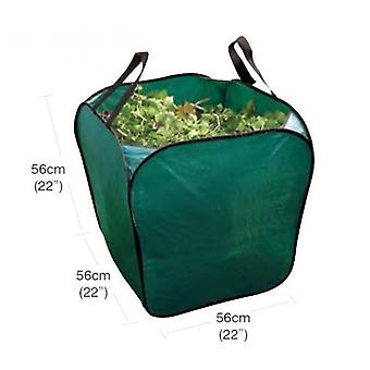 Medium Free Standing Garden Bag Waste, Rubbish, Leaves, Grass Foldable