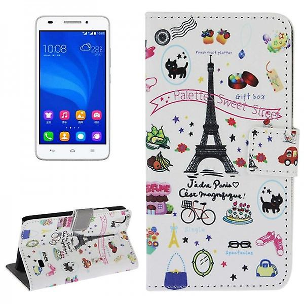 Pocket Wallet Premium pattern 42 for Huawei Ascend G620S