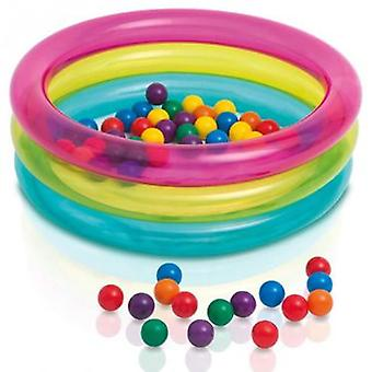 Intex Pool With 50 Balls 86X25 (Outdoor , Pool And Water Games , Swimming Pools)