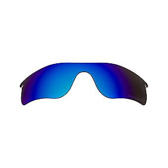 New SEEK Polarized Replacement Lenses for Oakley RADARLOCK PATH Blue Mirror