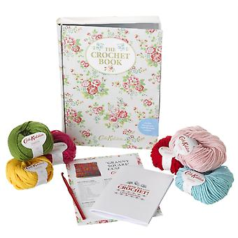 The Crochet Book (Tin with book and project) (Hardcover) by Kidston Cath