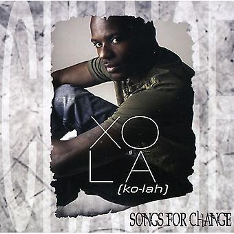 Xola - sange til ændring [CD] USA import