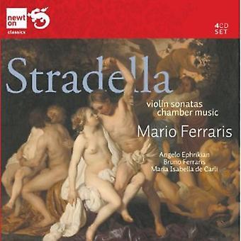 Alessandro Stradella - Stradella: Violinsonater; Kammermusik [CD] USA importerer
