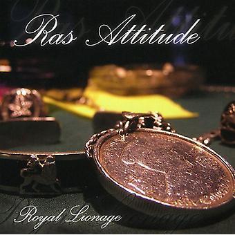Ras Attitude - Royal Lionage [CD] USA import