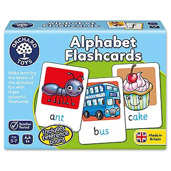 Orchard legetøj alfabet Flashcards