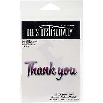 Dee's Distinctively Dies-Thank You 2.9