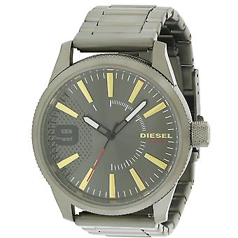 Diesel Rasp Gunmetal Stainless Steel Mens Watch DZ1762