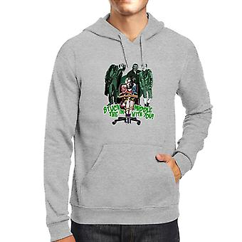 Suicide Squad Harley Quinn Stuck In The Middle Men's Hooded Sweatshirt