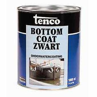 Tenco Bottomcoat onderwatercoating zwart 1 l