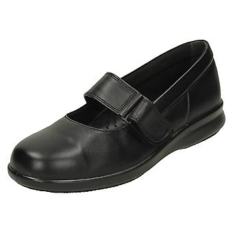 Ladies Easy B Flat Shoes Florence