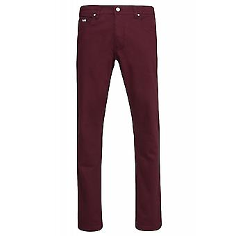 Sweet SKTBS Slims colored trousers mens jeans red of jeans trend