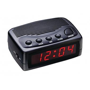 Balance LED Alarm Clock Digital Black