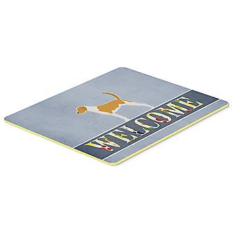 American Foxhound Welcome Kitchen or Bath Mat 20x30