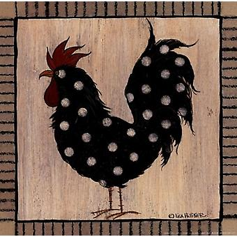Chicken Pox II Poster Print by Lisa Hilliker (10 x 10)