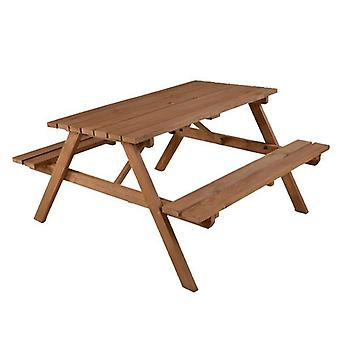 BrackenStyle Chester A-Frame 6 Seat Picnic Table