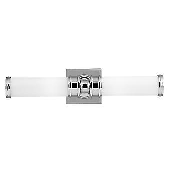 Payne Polished Chrome Two Light Wall Fixture - Elstead Lighting Fe/payne2 Bath