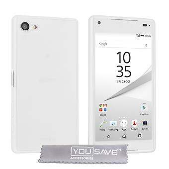 Yousave Accessoires Sony Xperia Z5 Compact Gel sillicone - Clear