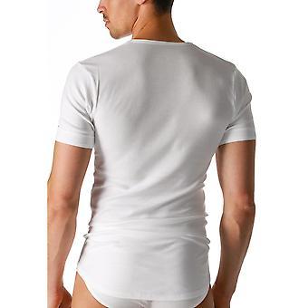 Mey 2802 Men's Noblesse White Pima Cotton Short Sleeve Top