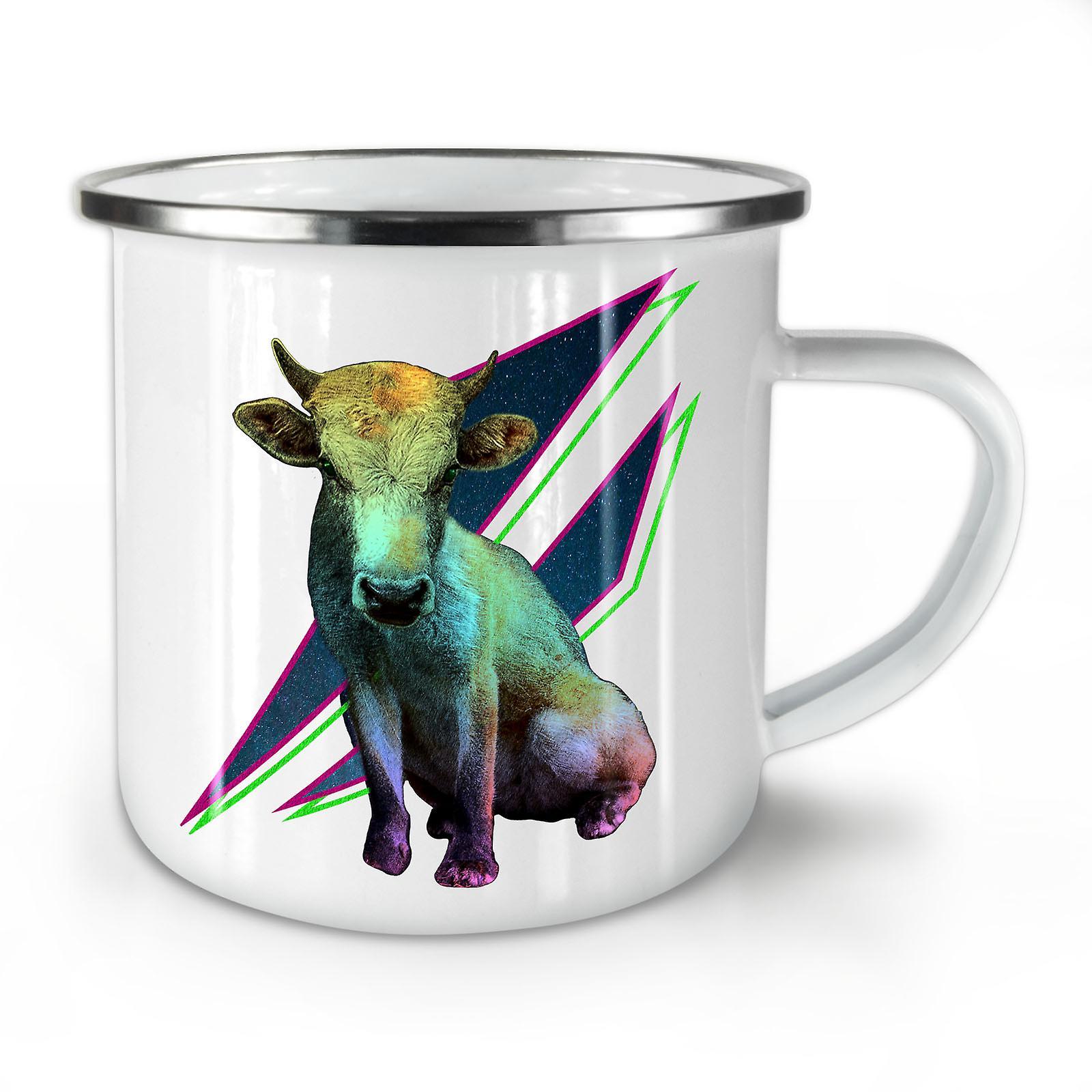 À Whitetea Émail Mode La De Bête Nouveau Mug10 Café OzWellcoda Prime Vache Animal BeorWdCx