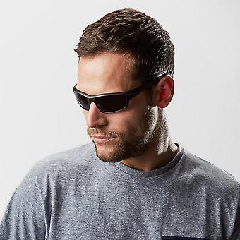 Matt Black gafas de sol tormenta de Peter varonil