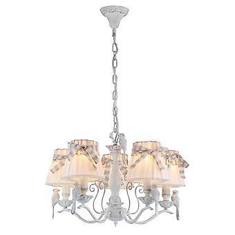 Maytoni Lighting Bird Elegant Collection Chandelier, White
