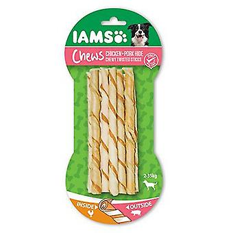 IAMS Twisted sticks masticables pollo y cerdo 35 unid. (Dogs , Treats , Eco Products)