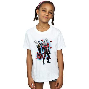 Marvel Girls Ant-Man And The Wasp Particle Pose T-Shirt