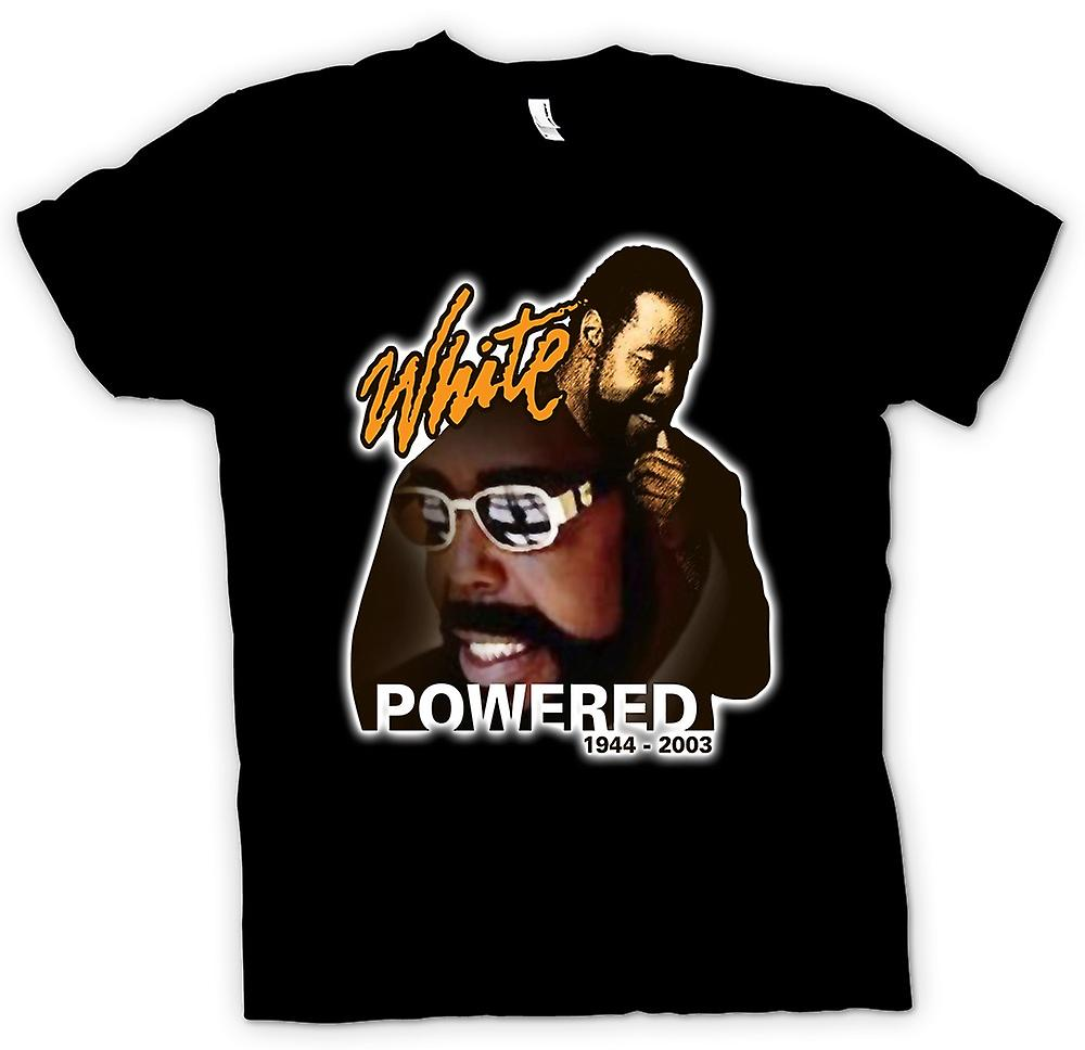 Camiseta mujer - Barry White - Powered
