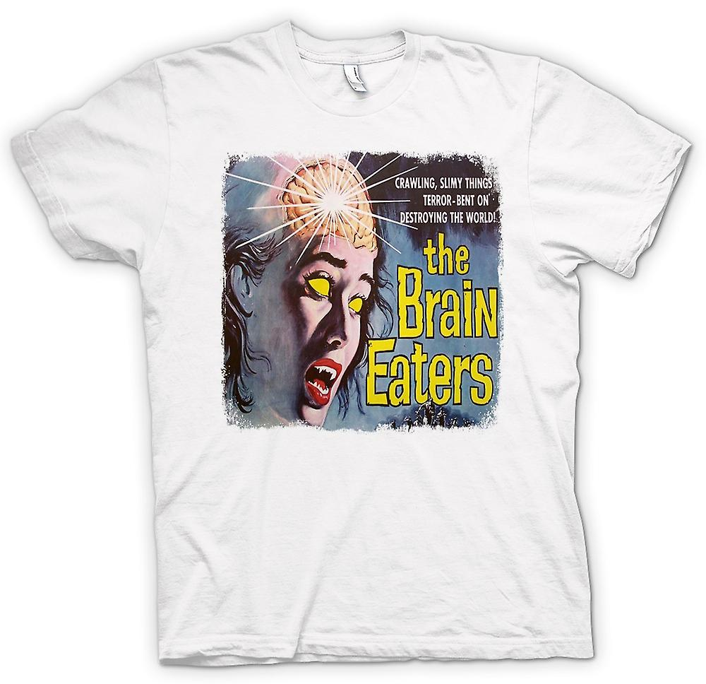 Hommes T-shirt - The Brain Eaters - Horreur - B Movie