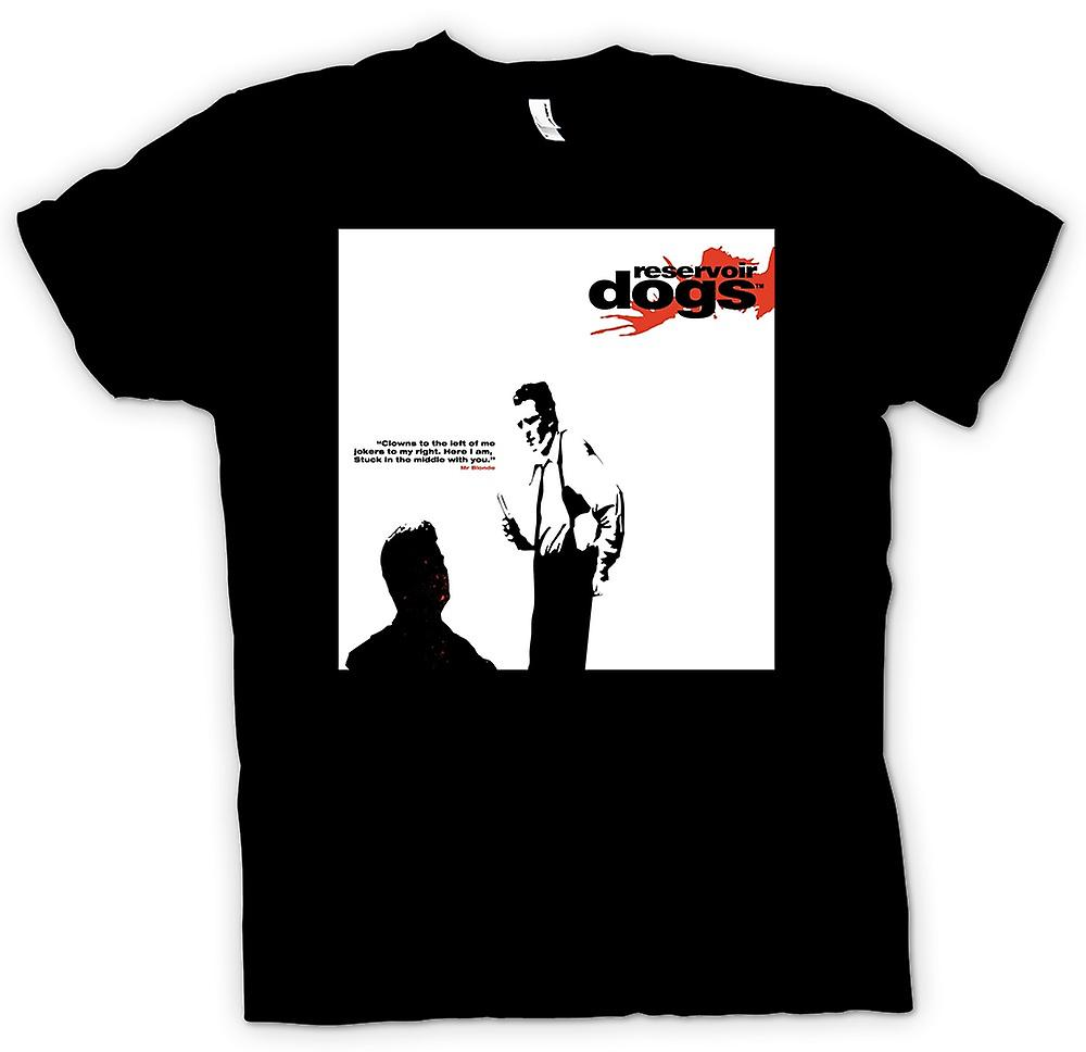 Mens T-shirt - Reservoir Dogs - Clowns To The Left