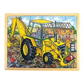 Bigjigs Toys Tablett Puzzle Digger