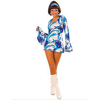 70S CHICK - BLUE (DRESS HEADBAND)
