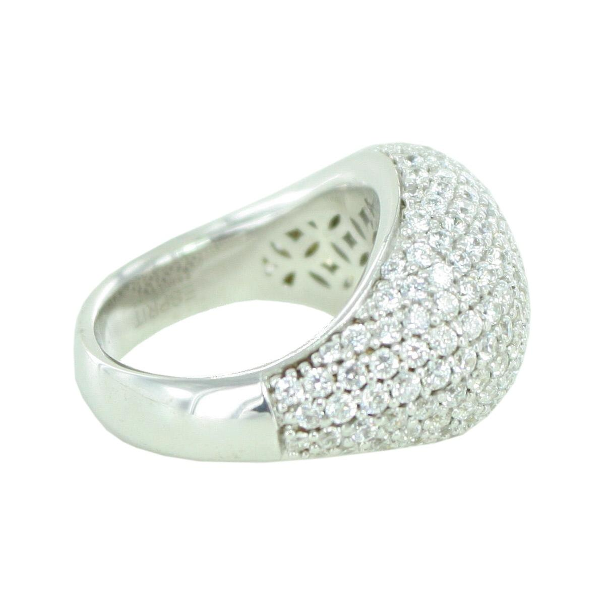 Esprit Collection femmes Ring argent Zirkonia Nyxia Gr.18 ELRG92034A180
