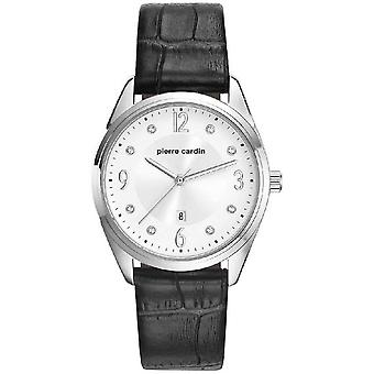 Pierre Cardin ladies watch wristwatch Bourse leather PC107862F01