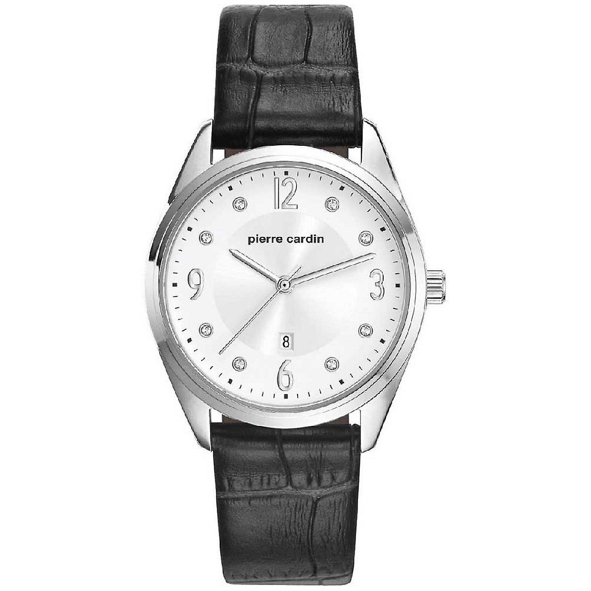 Pierre Cardin Damen Uhr Armbanduhr Bourse Leder PC107862F01