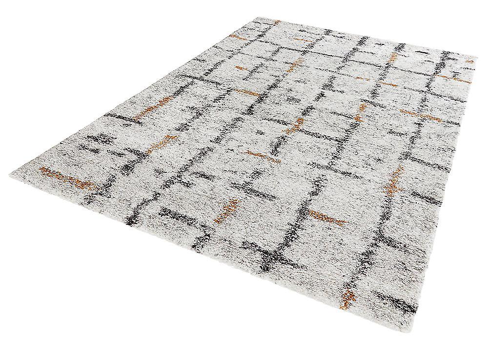concevoir la grille cr me poil long shaggy tapis fruugo. Black Bedroom Furniture Sets. Home Design Ideas