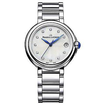 Maurice Lacroix Women's Fiaba 32mm Diamond Set Wristwatch FA1004-SS002-170-1 Watch