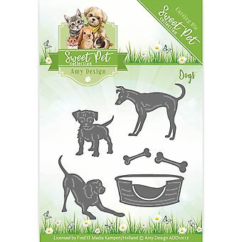 Find It Trading Amy Design Sweet Pet Die-Dogs