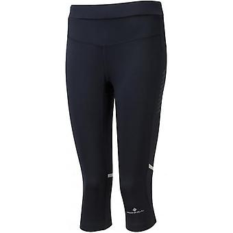 Womens Stride extensible Capri noir