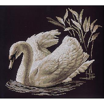 Swan Counted Cross Stitch Kit-15.75
