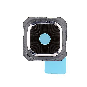 For Samsung Galaxy S6 kant Plus -SM-G928 - bagsiden vender mod kameralinsen og Bezel - sølv
