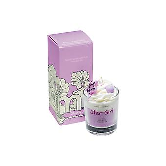 Bombe Kosmetik Piped Glass Candle-Stargirl