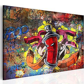 Leinwand Drucken - Graffiti-Meister