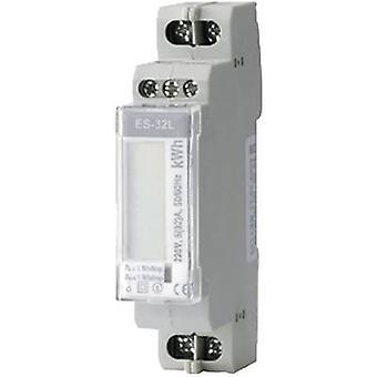 HAMAMI ES - 32L Stromzähler (AC) digitale 32 A MID zugelassen: Nein
