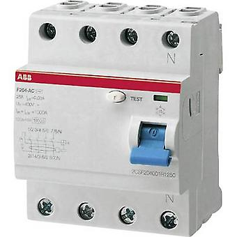 RCCB 4-pin 25 A 0.03 A