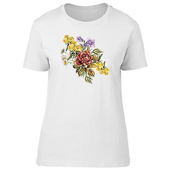 Bouquet With Chamomiles  Tee Women's -Image by Shutterstock