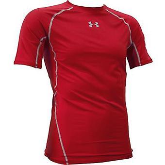Herren Kompressions-shirt UA HeatGear® armour shortsleeve