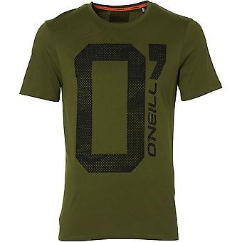 O'Neill Mens O' Short Sleeve Organic Cotton Graphic T Shirt