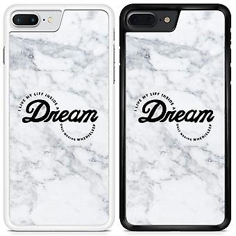 Dream Marble Design Custom Designed Printed Phone Case For Sony Xperia XA1 Marble09 / White